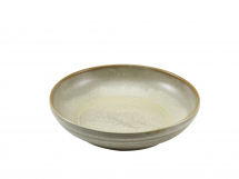 Terra Porcelain Matt Grey Coupe Bowl 27.5cm x6