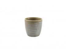 Terra Porcelain Matt Grey Chip Cup 32cl/11.25oz x6