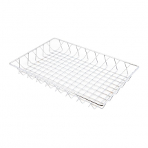 Chrome Display Basket 45X30X5cm x1