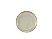 Terra Porcelain Matt Grey Coupe Plate 24cm x6