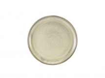 Terra Porcelain Matt Grey Coupe Plate 27.5cm x6