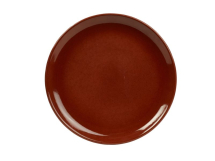 Terra Stoneware Rustic Red Coupe Plate 24cm x6