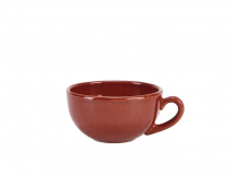 Terra Stoneware Rustic Red Cup 30cl/10.5oz x 6
