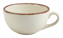 Terra Stoneware Sereno Brown Cup 30cl/10.5oz x6