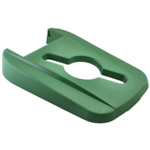 Green Open Lid For Grey Recycling Bin 85L