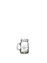 Glass Mini Mason Jar 12cl/4.25oz x12