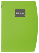 Rio A4 Menu Holder Green 4 Pages x1