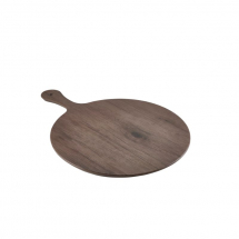 Wood Effect Melamine Paddle Board Round 21inch x1