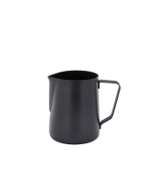Non-Stick Black Milk Jug 600ml/20oz x1