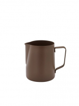 Non-Stick Brown Milk Jug 600ml/20oz x1