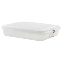 GN Storage Container 1/2 65mm Deep 4L x6