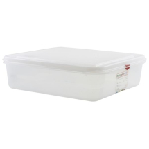 GN Storage Container 2/3 100mm Deep 9L x6
