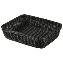 Polywicker Display Basket GN 1/2 Black x1