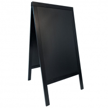 Sandwich A-Board 70X120cm, Black x1