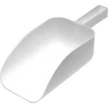 All Purpose 9inch White Scoop 2.25L Cap x1