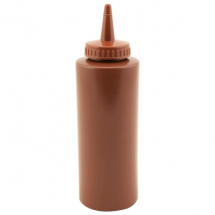 GenWare Squeeze Bottle Brown 12oz/35cl x1