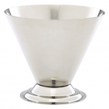 Stainless Steel Conical Sundae Cup x1
