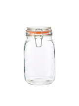 GenWare Glass Terrine Jar 1.5L x1