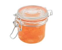 GenWare Glass Terrine Jar 200ml 8.2 x 8.1cm x1