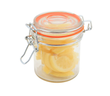GenWare Glass Terrine Jar 350ml 9.5 x 9cm x1