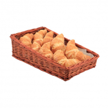 Wicker Display Basket 40X25X12cm - 6cm Front x1