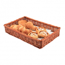Wicker Display Basket 46X30X8cm x1
