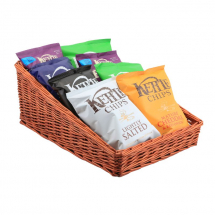 Wicker Display Basket 46X36X20cm - 7cm Front x1