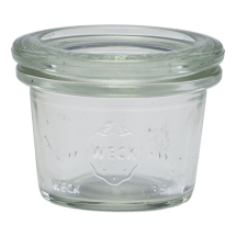 WECK Mini Jar 3.5cl/1.25oz x24