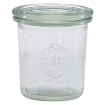 WECK Mini Jar 14cl/4.9oz 6cm (Dia) x12