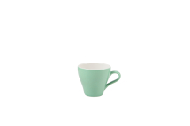 GenWare Porcelain Green Tulip Cup 18cl/6.25oz x6
