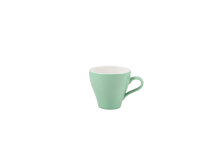 GenWare Porcelain Green Tulip Cup 28cl/10oz x6