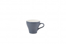 GenWare Porcelain Green Tulip Cup 35cl/12.25oz x6