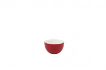 GenWare Porcelain Red Sugar Bowl 17.5cl/6oz x6