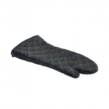 Flameguard Oven Mitt Black 17inch CE Marked (Pair) x1