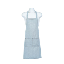 Light Blue Denim Bib Apron 70 x 90cm x1