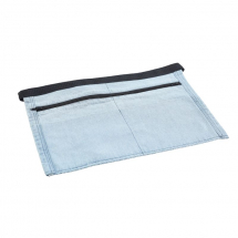 Light Blue Denim Money Apron 44 x 30cm x1
