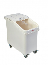 Polypropylene Mobile Ingredient Bin + Scoop 102Lt