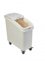 Polypropylene Mobile Ingredient Bin with Scoop 81Lt
