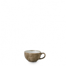 Stonecast Patina Antique Taupe Cappuccino Cup 8oz x12