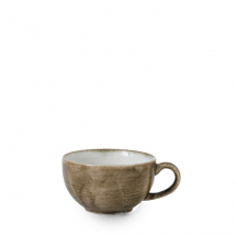 Stonecast Patina Antique Taupe Cappuccino Cup 12oz x12