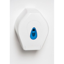 Small Mini Jumbo Dispenser White/Blue x1