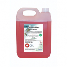 CSL Spray & Wipe Sanitiserx5lt
