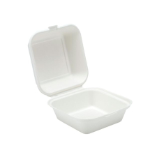 6inch Bagasse Burger Box 145x75mm x500